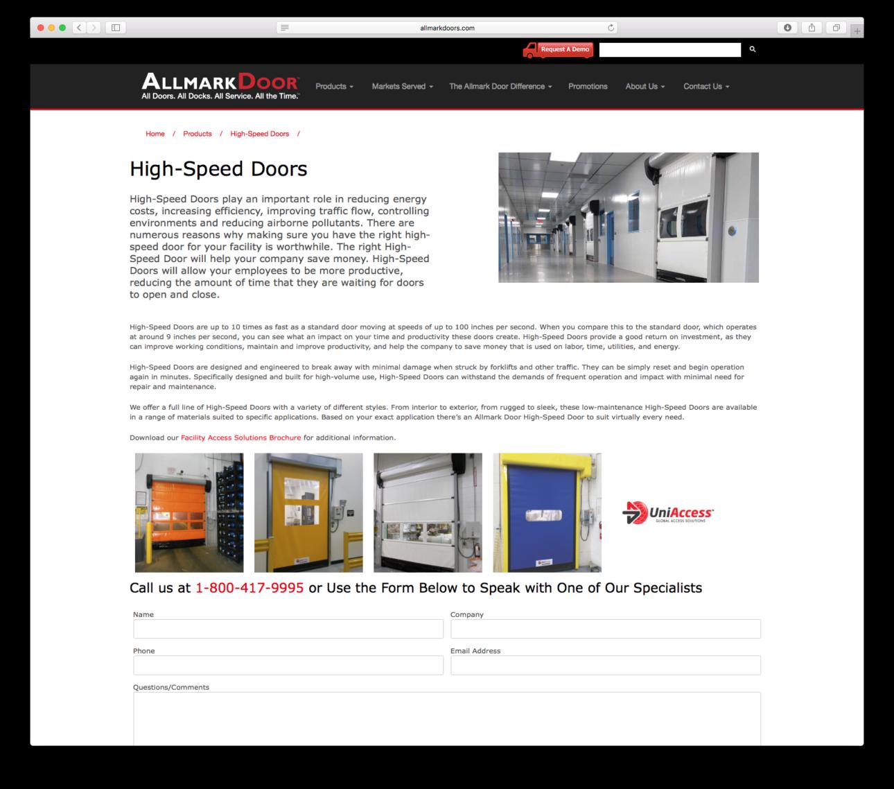 Doors Website Allmark Doors Website Sc 1 St Mspire Group